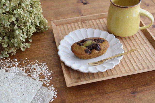 美濃焼 モチーフ サンフラワー 4寸皿 陶器
