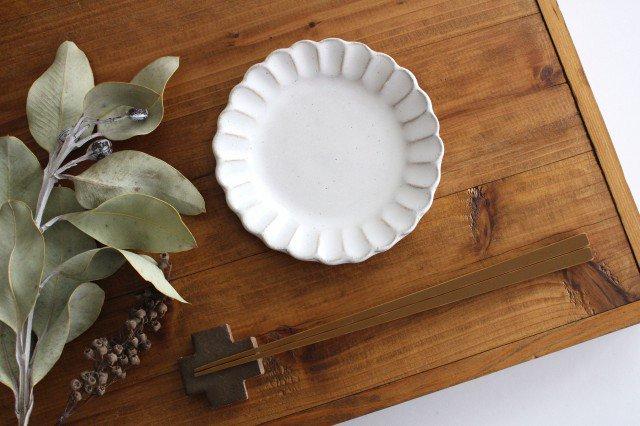 美濃焼 モチーフ サンフラワー 4寸皿 陶器 画像2