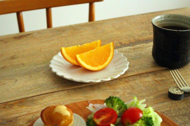 美濃焼 モチーフ サンフラワー 4寸皿 陶器 画像5