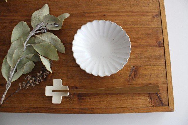 美濃焼 モチーフ 4寸輪花鉢 白 陶器 画像5