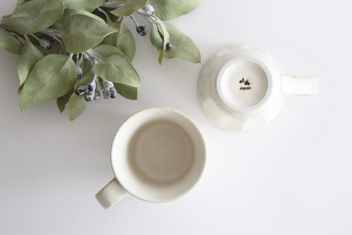マグカップ 磁器 菊花 美濃焼 画像4