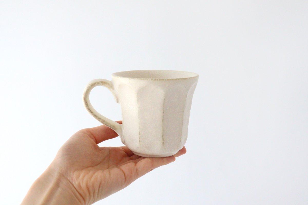 美濃焼 菊花 マグカップ 磁器 画像5