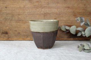 面取りフリーカップ 陶器 工房コキュ商品画像