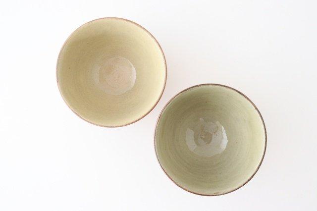 4.5寸ボウル 象嵌 陶器 工房コキュ やちむん 画像2