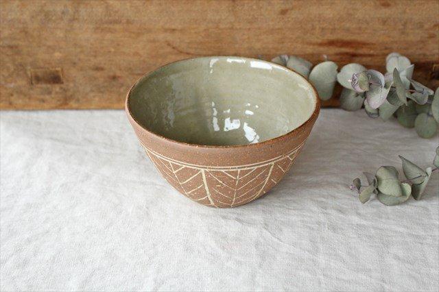 4.5寸ボウル 象嵌 陶器 工房コキュ やちむん 画像4