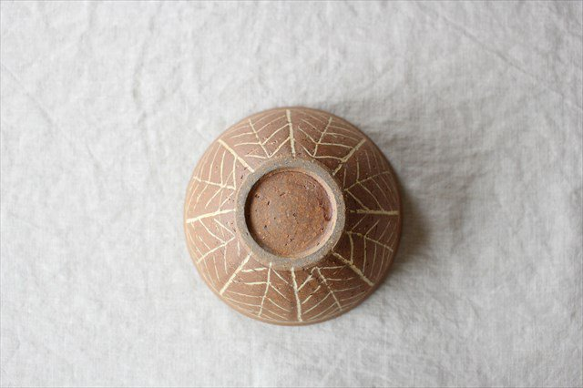 象嵌4.5寸ボウル 陶器 工房コキュ 画像5