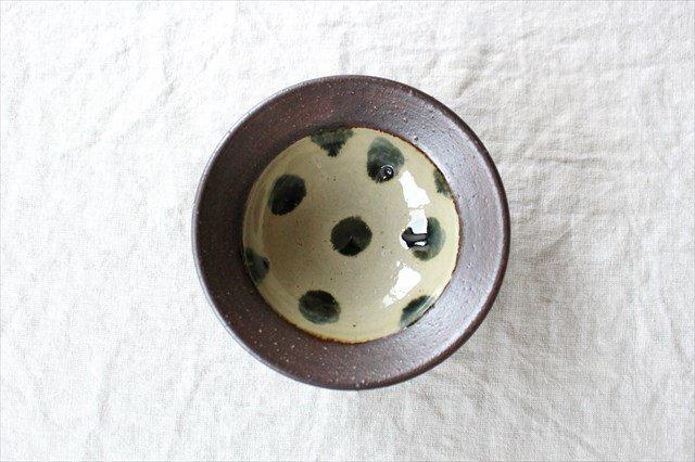 呉須点打4.5寸鉢 陶器 工房コキュ 画像2