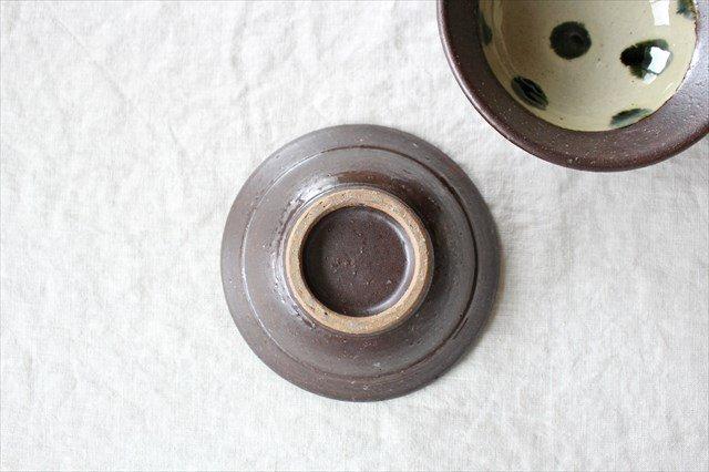 呉須点打4.5寸鉢 陶器 工房コキュ 画像4