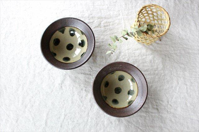 呉須点打4.5寸鉢 陶器 工房コキュ 画像6