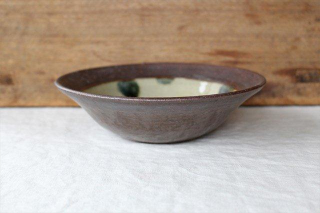呉須点打6寸鉢 陶器 工房コキュ 画像2