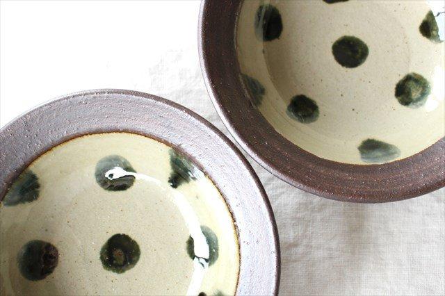 呉須点打6寸鉢 陶器 工房コキュ 画像3