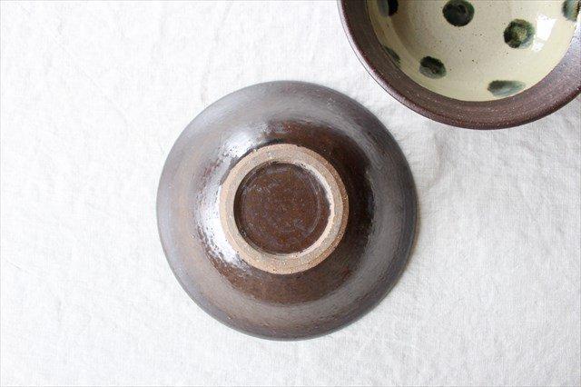 呉須点打6寸鉢 陶器 工房コキュ 画像5
