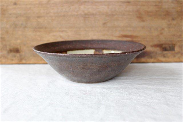 飴点打6寸鉢 陶器 工房コキュ 画像2
