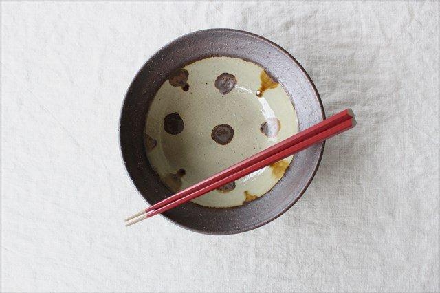 飴点打6寸鉢 陶器 工房コキュ 画像5
