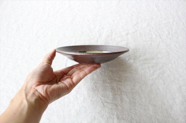 呉須点打5寸皿 陶器 工房コキュ 画像4