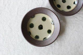呉須点打5寸皿 陶器 工房コキュ商品画像