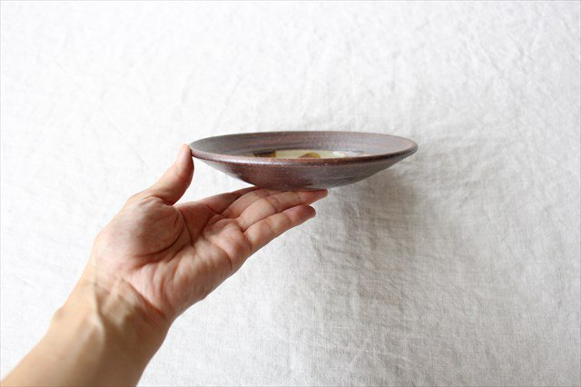 飴点打5寸皿 陶器 工房コキュ 画像4