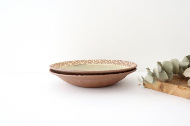 象嵌7寸皿 矢羽 陶器 工房コキュ 画像3