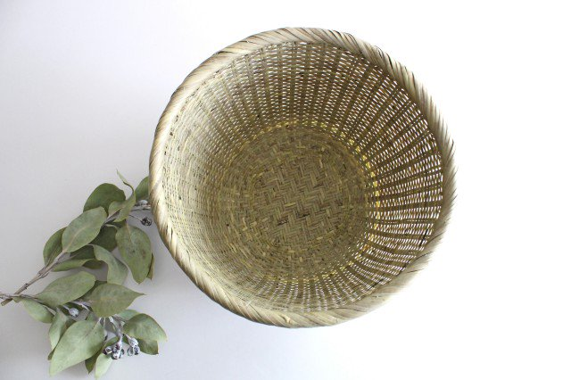 米とぎざる 中(一升用) 篠竹 宮城篠竹細工 画像2