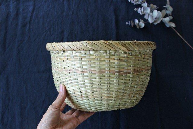 米とぎざる 中(一升用) 篠竹 宮城篠竹細工 画像5