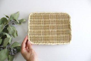 角盆ざる 7寸 真竹 新潟の竹細工商品画像
