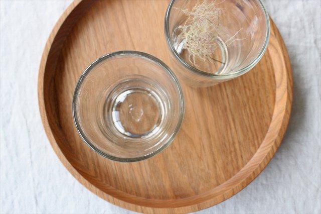 3.半コップ 白 ガラス 奥原硝子製造所 画像2