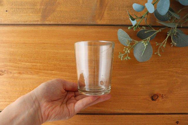3.半コップ 白 ガラス 奥原硝子製造所 画像4