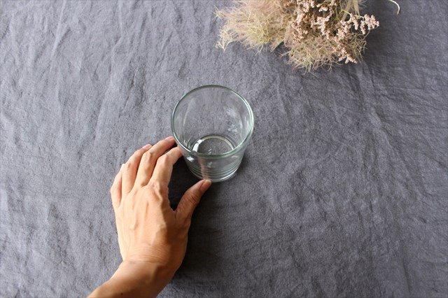 3.半コップ 白 ガラス 奥原硝子製造所 画像6