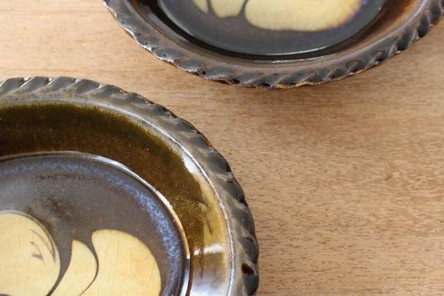 スリップウェア グラタン皿 【A】 陶器 柳瀬俊一郎 画像4