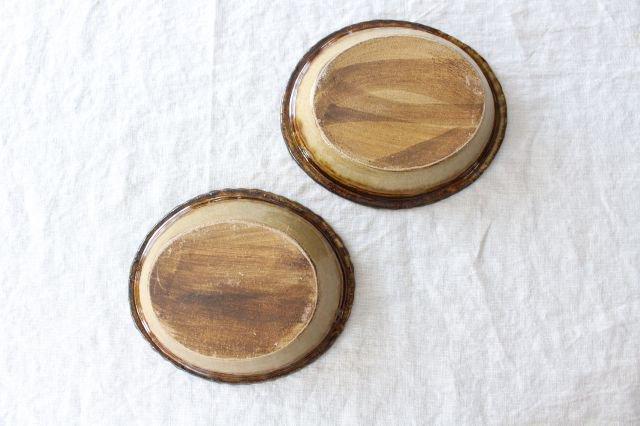 スリップウェア グラタン皿 【A】 陶器 柳瀬俊一郎 画像6