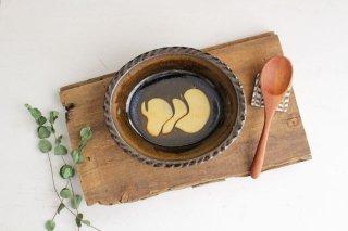 スリップウェア グラタン皿 団子 【A】 陶器 柳瀬俊一郎商品画像