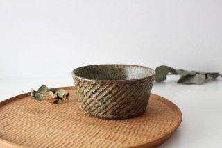 ナナメしのぎ鉢 もえぎ 陶器 伊藤豊商品画像