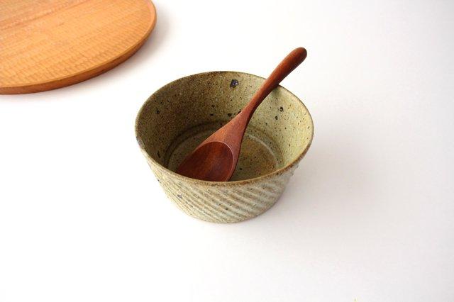 ナナメしのぎ鉢 もえぎ 【B】 陶器 伊藤豊