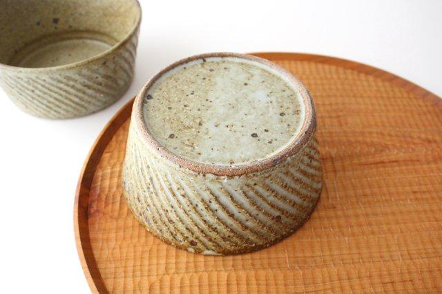 ナナメしのぎ鉢 もえぎ 【B】 陶器 伊藤豊 画像3
