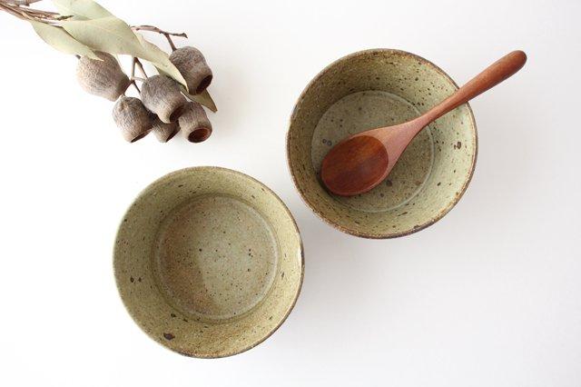 ナナメしのぎ鉢 もえぎ 【B】 陶器 伊藤豊 画像5