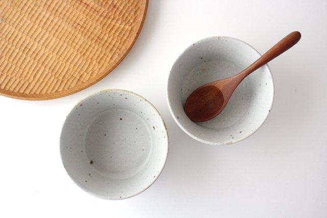 ナナメしのぎ鉢 粉引 陶器 伊藤豊 画像2