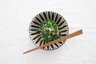 美濃焼 中平鉢 麦藁手(青)【B】 陶器商品画像