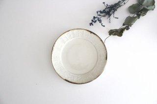 Linda plate S white 半磁器 アトリエキウト 小出麻紀子商品画像