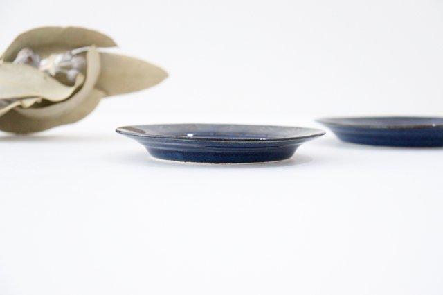 Linda plate S blue 半磁器 アトリエキウト 小出麻紀子 画像6