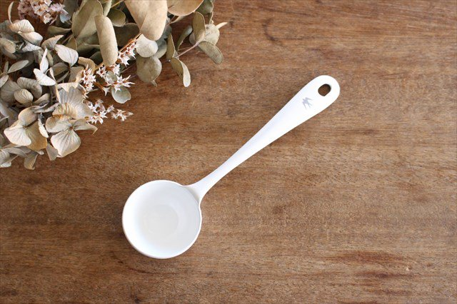 TSUBAME MEASURE SPOON ホワイト 琺瑯 GLOCAL STANDARD PRODUCTS 画像4