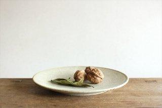 7寸皿 粉引 陶器 恵山 小林耶摩人商品画像