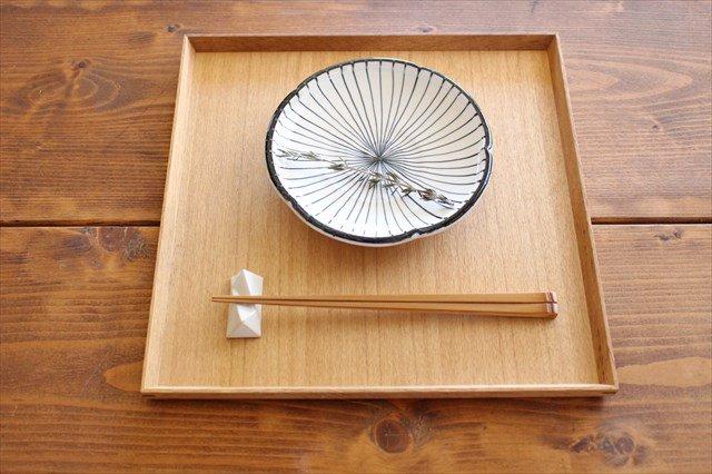 美濃焼 白化粧十草 5.5寸皿 陶器 画像5