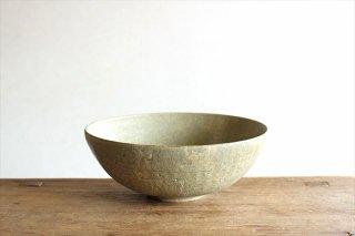 ボウルL 灰釉 陶器 恵山 小林耶摩人商品画像