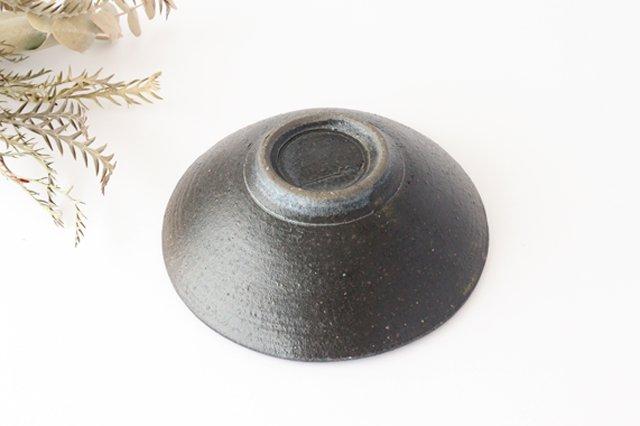 6寸鉢 黒 陶器 寺田昭洋 画像4