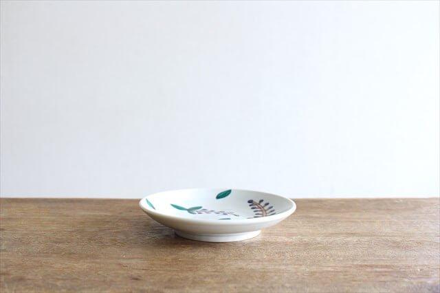 フェザーコーム 角皿 トリコ 【A】 陶器 佐川義乱 画像2