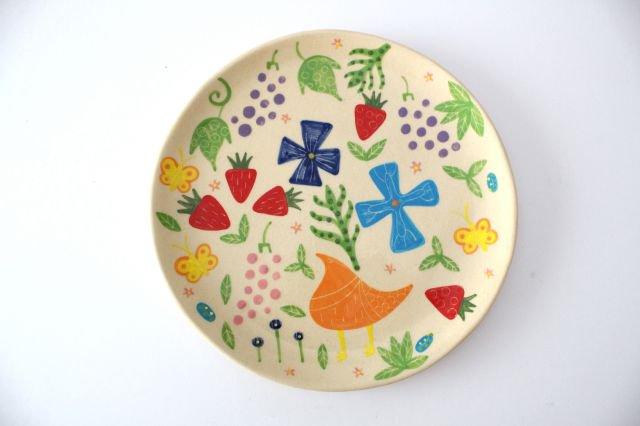 【一点もの】色絵付け大皿 【F】 陶器 工房双子堂 やちむん