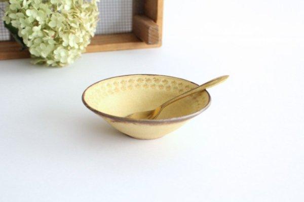 印花小鉢 黄 陶器 武曽健一商品画像