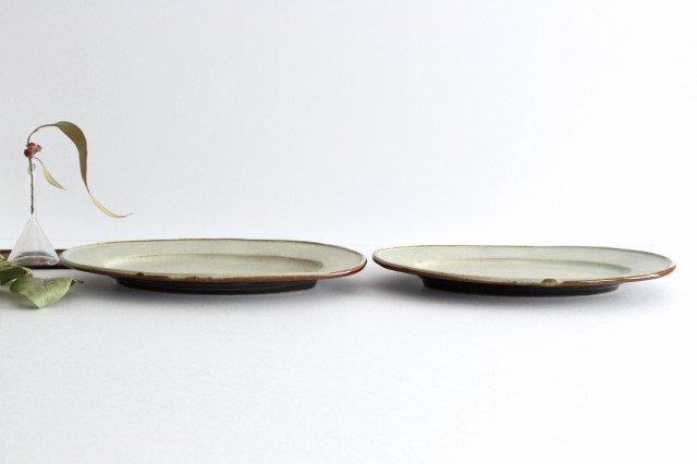 オーバル皿 大 陶器 笠原良子 画像4