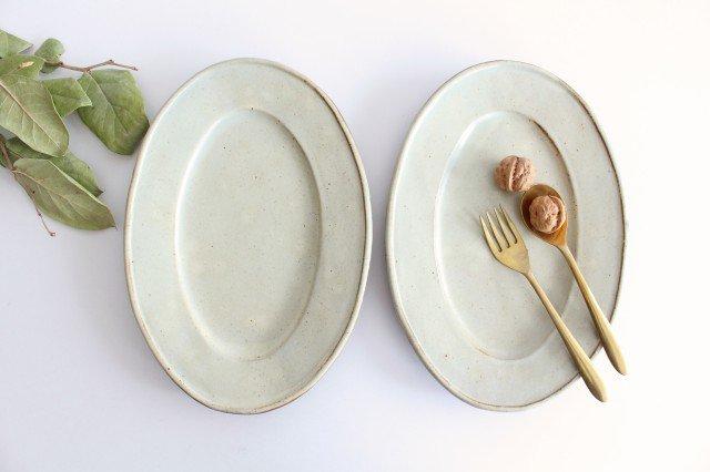 オーバル皿 大 陶器 笠原良子 画像6