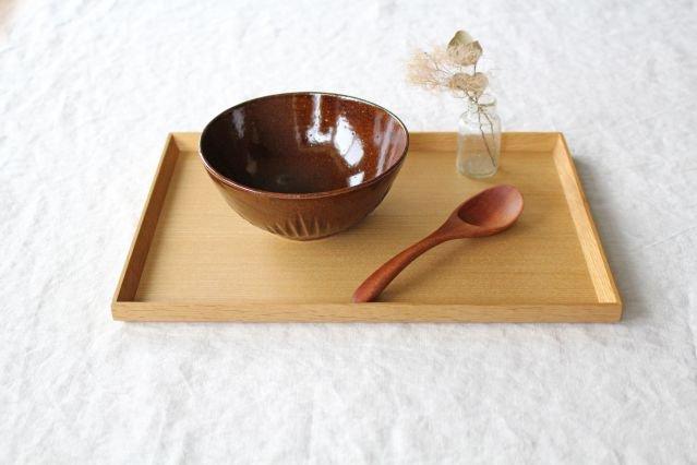 ボウル M ストレート 飴 陶器 平沢佳子 画像5